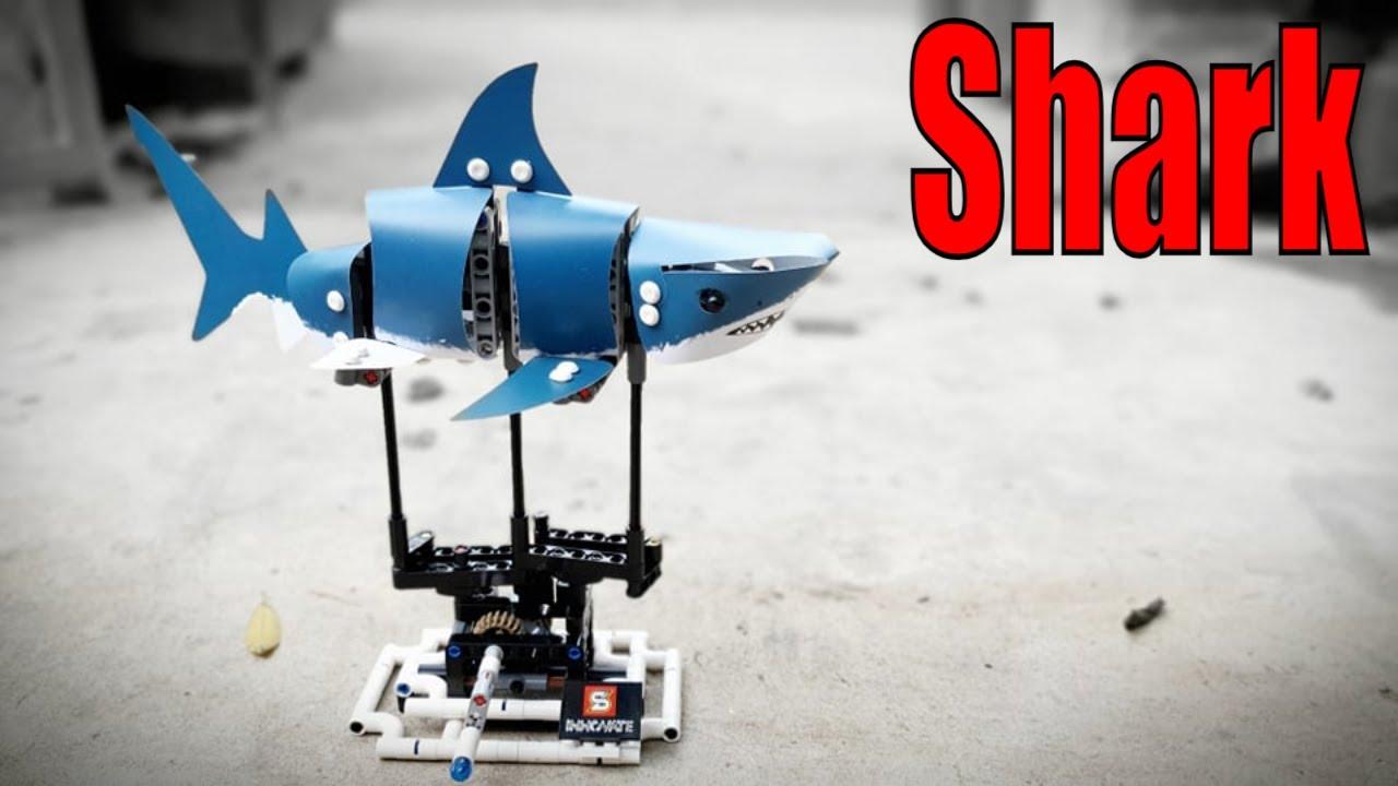 Lắp Ráp Cá Mập Bằng Lego | Yêu Sáng Tạo