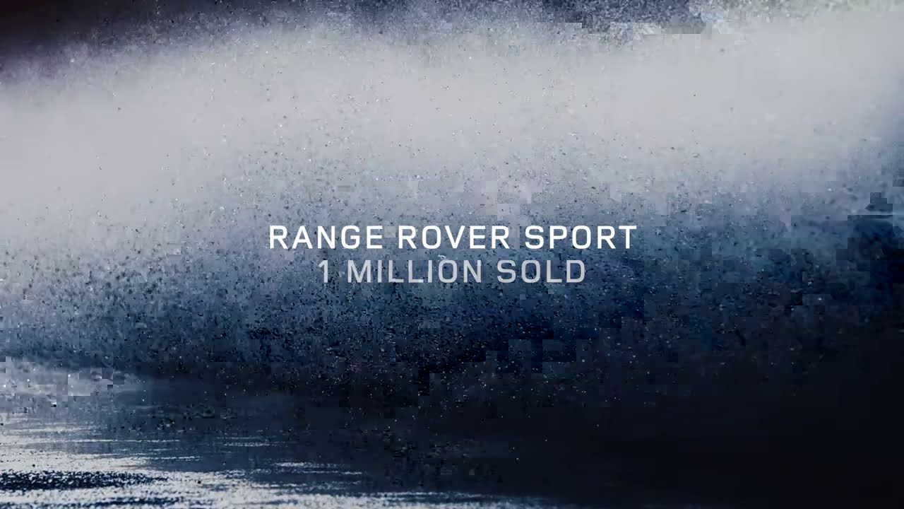 Range Rover Sport - 1 Million Worldwide Sales