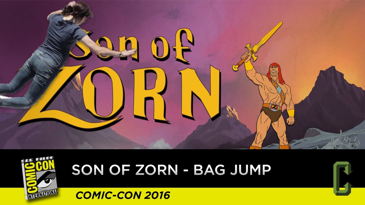 Download Son Of Zorn - Bag Jump With Perri - San Diego Comic-Con 2016