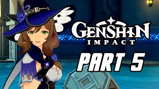 Genshin Impact - Gameplay Walkthrough Part 5 (Male, No Commentary, PS4 PRO)
