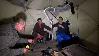 "Зимняя рыбалка с youtube Alexey Sokolov ""кстати ОН БЛОООГЕР""!"