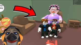 RACE WITH HARMFUL IN ROBLOX | WHO GETS RID OF GRANNY FIRST?