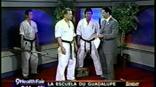 Baseball bat breaking  Karate Demo /Channel 9