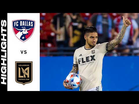 Dallas Los Angeles FC Goals And Highlights