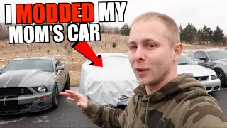 I Modded my Mom's MUSTANG GT - Surprised Reveal