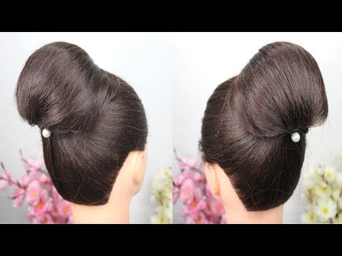 Easy Hairstyle with using clutcher - Step By Step Hairstyle For Beginners - Clutcher Hairstyles thumbnail