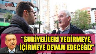 """Erdoğan, """"Suriyelileri yedirip, içirmeye devam edeceğiz"""" dedi - Ne düşünüyorsunuz?"""
