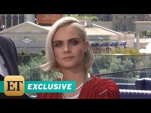 Thumbnail: EXCLUSIVE: Cara Delevingne Says Pal Kendall Jenner Was 'Screaming' After Watching 'Valerian' Trai…