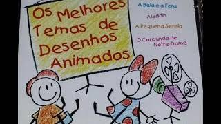 Cd Os Melhores Temas De Desenhos Animado´- 2000 - GRAVADORA ATRAÇÃO FONOGRAFICA