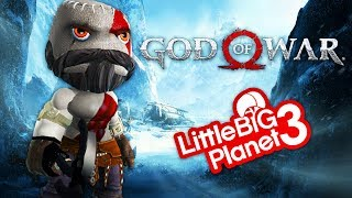 LittleBigPlanet 3 - God of War (2018) Demo  - PS4 PRO Gameplay