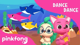 Faster Baby Shark | Dance Dance | Faster Baby Shark Dance | Pinkfong Songs for Children