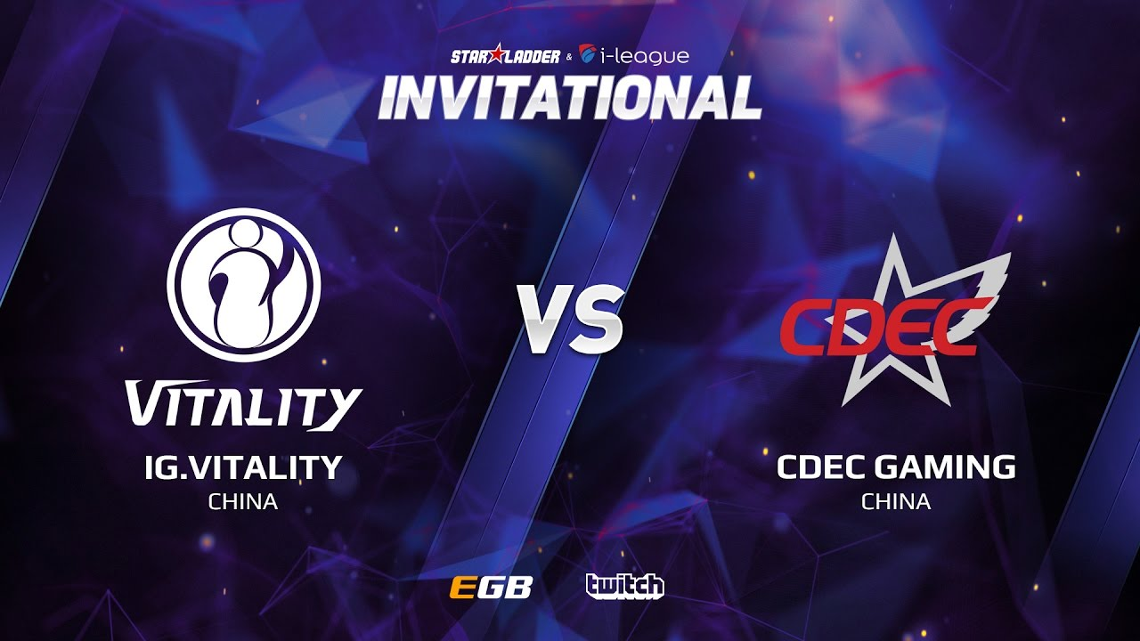 IG.Vitality vs CDEC Gaming, Game 2, SL i-League Invitational S2, CN Qualifier