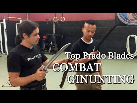 Combat Ginuntings by Top Prado Blades - Handmade by MSgt. Pr