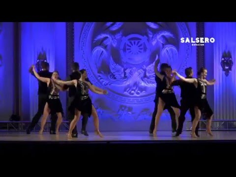 Salsa Caliente Couples Performance NYSC 2015