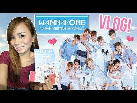 Vlog : WANNAONE 1st FAN MEET in MANILA 2017 워너원