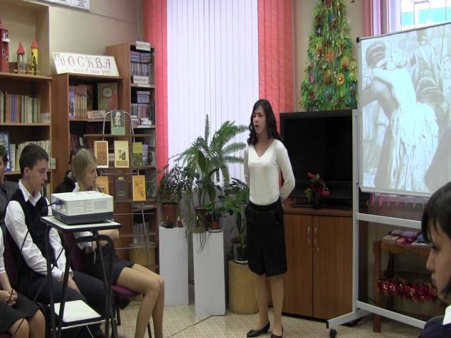 Изображение предпросмотра прочтения – ВикторияКлимова читает произведение «Вчерашний день, часу вшестом…» Н.А.Некрасова