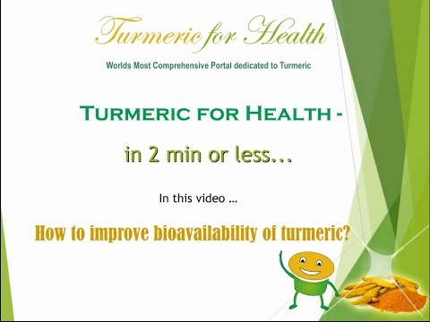 Get Full Benefits of Turmeric - 3 Easy Ways to Improve its Absorption