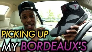 Picking Up My Bordeaux