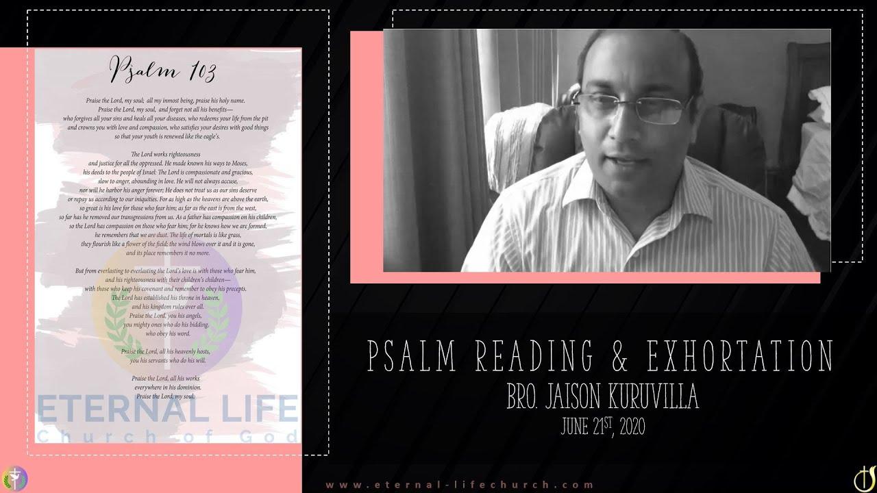 Psalms Reading
