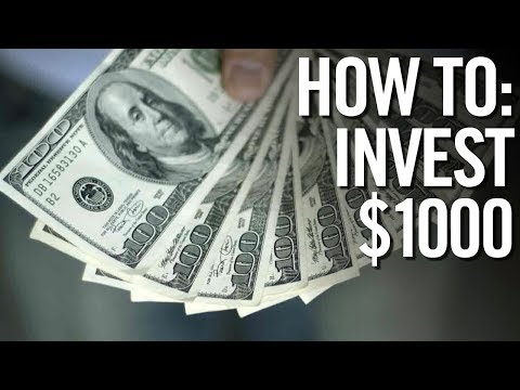 HOW TO INVEST $1000 📈 Investing Your First 1000 Dollars