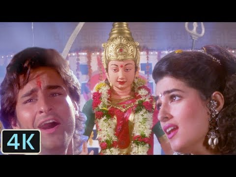 'Dil Pe Lahoo Se Likh Diya'  Full 4K Video Song | Saif Ali Khan, Twinkle Khanna - Dil Tera Diwana