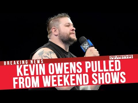 BREAKING NEWS: Kevin Owens Pulled From Weekend Shows In South America