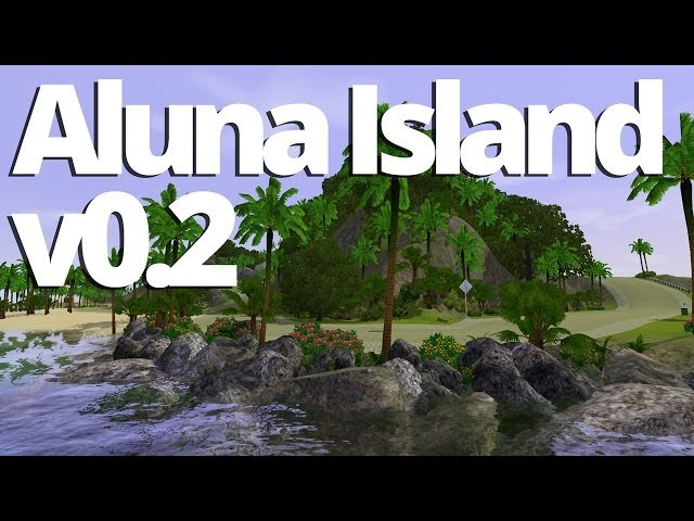 Aluna Island v0.2 - Out Now! (Bug Fixes & New Roads)