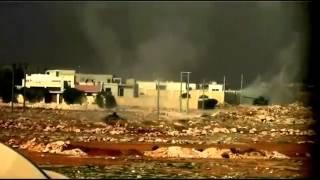 Сирийские повстанцы сняли на видео танковый бой(На YouTube появились видеоролики, снятые сирийскими повстанцами. На видео запечатлен танковый бой. Согласно..., 2012-11-06T14:47:53.000Z)