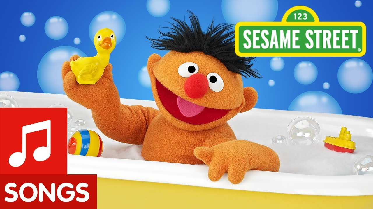Sesame Street: Ernie and his Rubber Duckie - YouTube