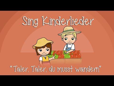 Taler, Taler, du musst wandern - Kinderlieder zum Mitsingen | Sing Kinderlieder