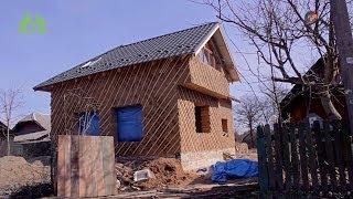 Как мы строили экодом? Глинянная штукатурка. Часть 4(Экодом своими руками http://rodovid.me/blog/ecodom/ http://vk.com/rodovidme http://odnoklassniki.ru/rodovidme/, 2014-04-11T14:20:02.000Z)