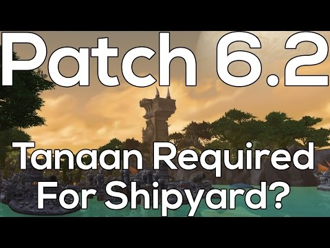 Tanaan Jungle: How To Get Shipyard Oil & Buffed Apexis Missions - Patch 6.2