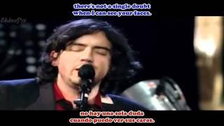 SNOW PATROL Give Me Strength (Live) SUB Español Inglés - YouTube.flv