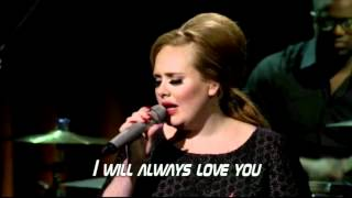 Adele -  Love Song (Lyrics) - HD