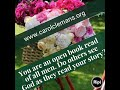 You are an open book read of all men. Do others see God as they read your story?