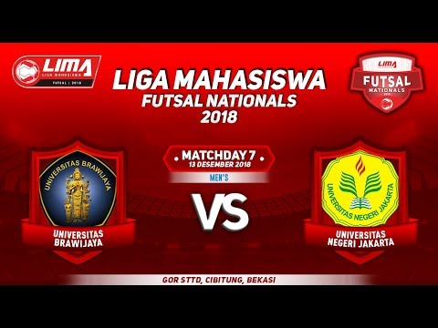 UB VS UNJ MEN'S LIMA FUTSAL NATIONALS 2018