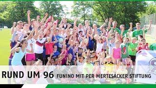 Rund um 96 | funino-turnier mit der per mertesacker stiftung
