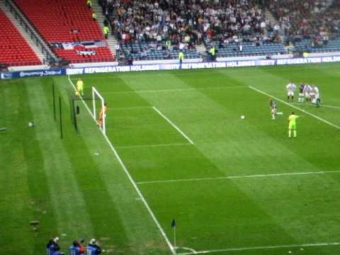Scott Arfield's penalty v the Fifers!!