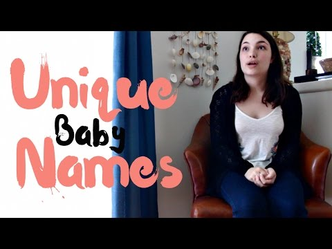 Unique, Rare & Uncommon Baby Names