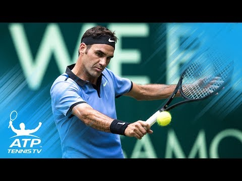 Ruthless Roger Federer shots vs Sugita | Gerry Weber Open Halle 2017 Highlights