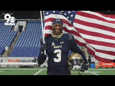 Navy denies football team captain's request to delay service and try to play in the NFL
