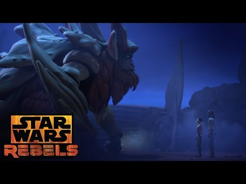 Ezra and the Bendu | Star Wars Rebels | Disney XD