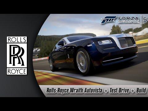 Forza Motorsport 5: Rolls-Royce Wraith Autovista + Test Drive + Build
