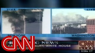 9/11: South Tower collapses, Pentagon hit