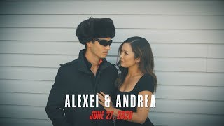 Agents Save The Date - Alexei & Andrea