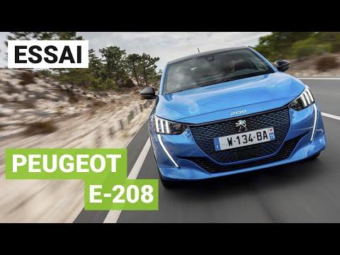 Essai Peugeot e-208