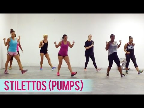 Crime Mob  Stilettos Pumps ft Miss Aisha Dance Fitness with Jessica