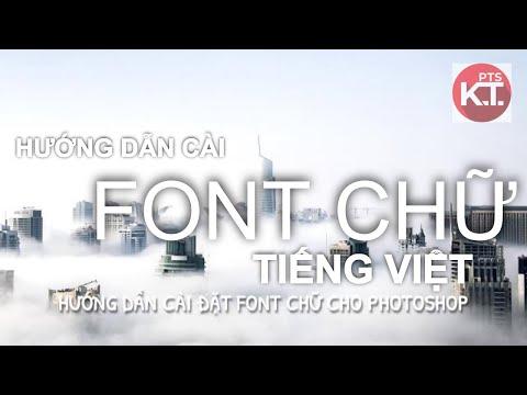 ✅ Font Chữ Tiếng Việt  |  Photoshop Kiến Trúc