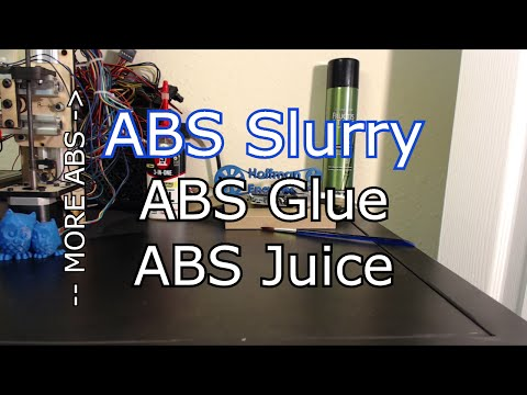 How to easily make ABS Slurry (aka ABS Juice and Glue)