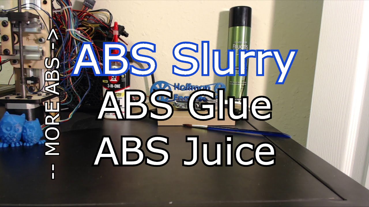 Abs Glue How To Easily Make Abs Slurry Aka Abs Juice And Glue